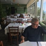 La Terra kept the restaurant open for Fabrizio so we could enjoy a late lunch.