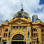 Flinders St Station perfect French Renaissance architecture in the heart of Melbourne