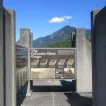 Outside Deck Visitor Center Top Floor, Bonneville Dam, Columbia River Gorge