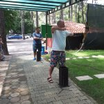 Archery with Aytac.