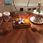 Champagne and Fruit Basket
