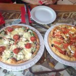 Very interesting pizza with Rigas Šprotes( small smoked fishes in oil)