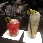 red ginny's and classic mojito