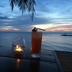 Sunset at Aninuan Beach Resort