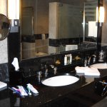 Black marble luxury - our delightful en-suite