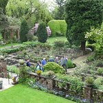 gardens behind hotel