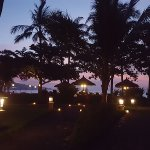 Night View of Sunset Bar