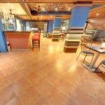 Restaurant Area With Bar