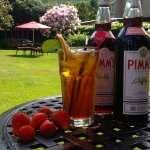 Pimms & Strawberries.....why not?