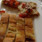 Bruscetta con tomate