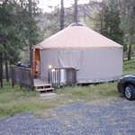 Yurt 4 (Hill Yurt Village)