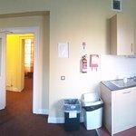 Kitchen living panorama