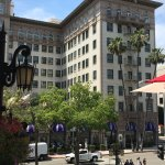 Wilshire Wing of the Wilshire Beverly Hills - our Corner Suite 3rd Floor facing Rodeo Drive
