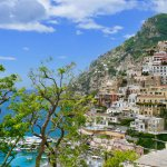 Stunning views of Positano.