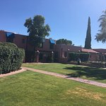 What an Oasis! This Inn offers a glimpse into the 1930s hacienda style resort.