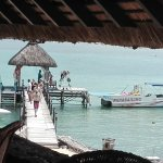 View from Quarterdeck - at the Pier you can try water skiing, go snorkelling etc for free