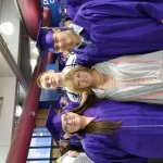 Proud mom, Allison, with Christopher,  his girlfriend,  Bree, and brother Matthew just after cer
