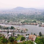 Dal lake From shankaracharya temple