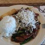 Mongolian Beef - Lunch Special