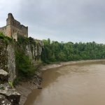 Dramatic cliff of River Wye
