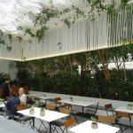 Museum of Cycladic Art - the café