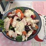 salade fraicheur sans crevette