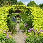 The stunning gardens can be visited by guests
