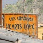 Sign outside Hearts