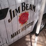 Jim Beam - anyone - drinks and bourbon flavoured bbq sauce on steaks