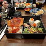 Pork Katsu Bento Box w/ California Roll