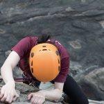 Climbing on Otter Cliff
