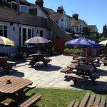Lovely beer garden