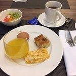 Buffet petit déjeuner inclus