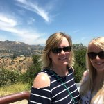 Hollywood Sign in the background (looks bigger in person that this picture)