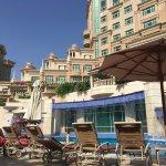 The hotel's swimmingpool