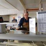Vishandel Piet van der Plas Foto