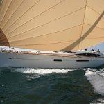 Jeanneau 509 under sail