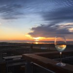 Beautiful sunset at The Minnis