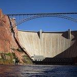 Glen Canyon Dam for Lake Powell
