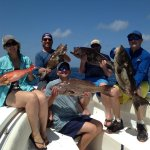 Showing off the grouper