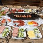 Plentiful and tasty buffet
