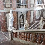 Inside the castle - the main staircase