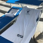 Margherita pizza and beach rentals