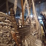 Vasa from the stern