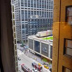 View to 6th Ave from room 1410