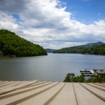 Lake Lure from Legends