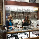 Inside Gold Creations in the market