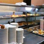 Display of fried food