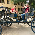 Carriage ride - fun but short
