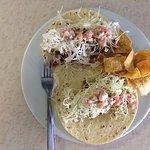 2 fish tacos